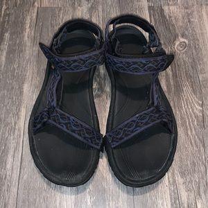 Men's Navy Teva Sandals